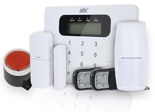 Комплекты беспроводной GSM сигнализации от компании ATIS